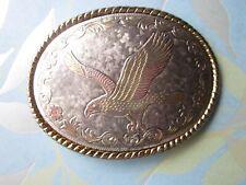 Vintage Belt Buckle with Eagle