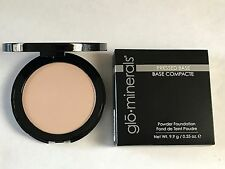Glominerals Pressed Base Powder Foundation Compact Beige Light