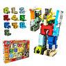 7-14 Jahre Spielzeug 0-9 Anzahl Bausteine Verformung Roboter Montage Puzzle