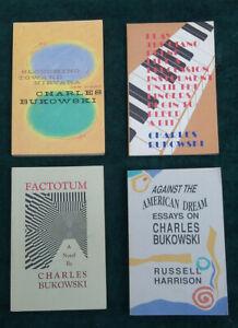 Charles Bukowski Cooletchsin- Poems Novel Essays Against the American Dream Etc.