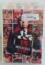 15 HITCHCOCK FILMS DVD BRAND NEW 2012 EXTRAORDINARY COLLECTION