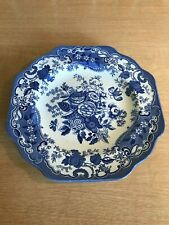 The Spode Blue Room Collection Plate - British Flowers - Rosa