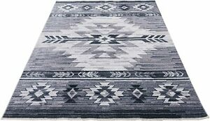 Southwestern 2x3 Rug Navajo Native American Inspired Modern Faded Tribal...