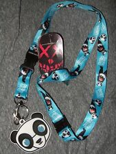 DC Comics Suicide Squad Panda Bear Man Detachable Keychain Lanyard Rubber Charm