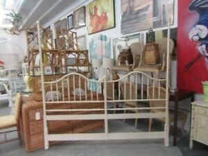Tall Faux Bamboo King Size Headboard