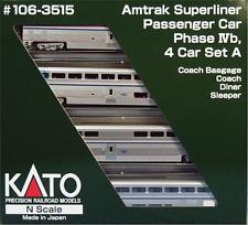 Kato Set Superliner Amtrak Phase IVb -- 106-3515 NEU