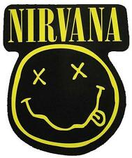 "NIRVANA AUFKLEBER / STICKER # 21 ""SMILEY"" - PVC - 11x10cm"