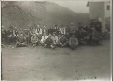 FOTOGRAFIA ORIGINALE _VALLE LEMINA _ TALUCCO 1929