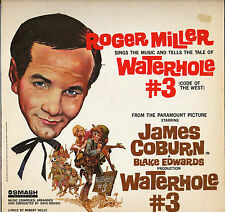 "ROGER MILLER / DAVE GRUSIN ""WATERHOLE # 3"" B.O. FILM COUNTRY 60'S LP SMASH 67096"