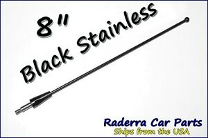 "8"" Black Stainless AM FM Antenna Mast FITS: 1995-1998 Ford Windstar"