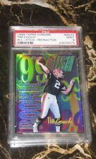 1999 TOPPS CHROME ALL-ETCH-REFRACTOR-ROOKIE CARD FROM TIM COUCH #AE22 PSA MINT 9