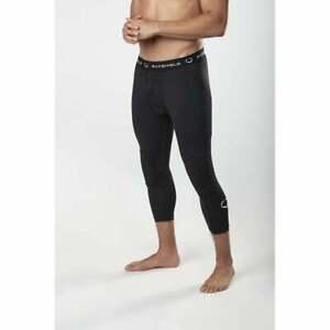 EvoShield Men's 3/4 Sliding Tights Slider Shorts Baseball/Softball Padded Black