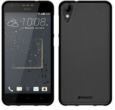 AMZER Exclusive Pudding Matte TPU Back Case Cover For HTC Desire 825 - Black