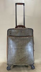 """HARTMANN WINGS BELTING MOBILE TRAVELER EXPANDABLE 21"""" CARRY ON SPINNER SUITCASE"""
