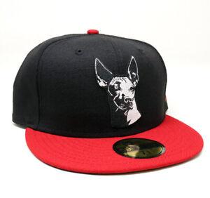 New Era Club Tijuana Xolos 59FIFTY Fitted Hat Gorra Cerrada Red/Black