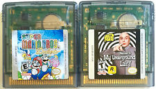 2 GREAT NINTENDO GAME BOY COLOR GAMES ~ SUPER MARIO BROS. DELUXE & AUSTIN POWERS