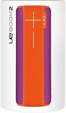 UE BOOM 2 Wireless Bluetooth Waterproof Speaker (Purple/Orange) NEW +WARRANTY