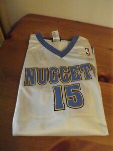 DENVER NUGGETS Carmelo Anthony #15 NBA BASKETBALL JERSEY SZ 2XL Reebok
