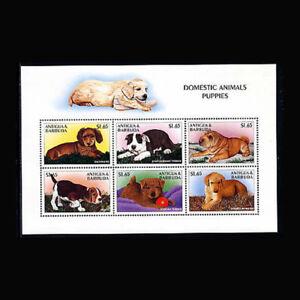 Antigua, Sc #2103, MNH, 1997, S/S, Dogs, Domestic Animals, A350EDD-B