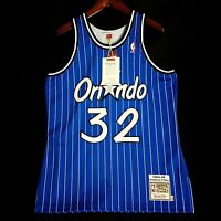 100% Authentic Shaquille O'Neal Mitchell Ness Magic Jersey Size 44 L - penny