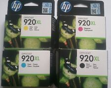 HP 920XL EXPIRED DATE BLACK CYAN MAGENTA YELLOW 6000 6500 6500A 7500 7500A 70006