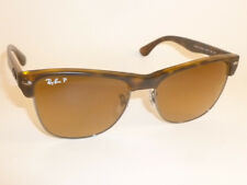 24d14f04ab RAY BAN Sunglasses CLUBMASTER OVERSIZED RB 4175 878 M2 Polarized Brown  Gradient