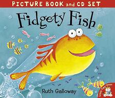 Fidgety Fish (Book & CD), Ruth Galloway | Paperback Book | Good | 9781845062415