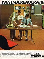 PUBLICITE ADVERTISING 025  1978  STRAFOR  mobilier de bureau 2