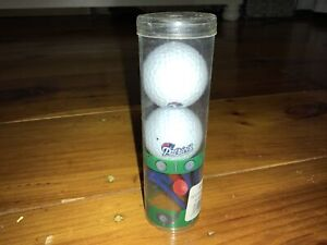 NFL Golf Balls New England Patriots, 2 white golf balls with Tees.