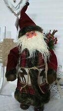 NEU Weihnachtsmann Santaclaus Nikolaus Rentier geschenkesack Shabby Landhaus