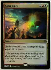 1x FOIL Solar Blaze Near Mint NM Magic card modern legacy cube WAR OF THE SPARK