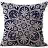 """18"""" Vintage Linen Cotton Throw Pillow Case Cushion Cover Home Sofa Bed Car Decor"""