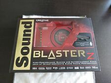 Creative Sound Blaster Z, SB1500, Windows 10 supported, complete with box.