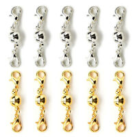 5x or Silver ball Tones Fermoirs de homard magnétique pour collier de   BB