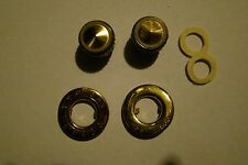 Vintage Telefunken Volume And On-Off Knobs From Model 77 Inc All Pieces Rare