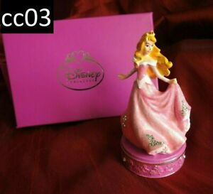 Disney Princess Aurora Trinket Box Figurine Jewelled Sleeping Beauty BOXED