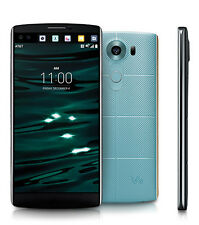 Unlocked LG V10 H900 - 64GB 4G LTE (AT&T, T-Mobile Metro) Phone - Opal Blue