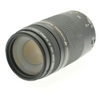 CANON Tele Zoom Lens EF II 75-300mm F4.0-5.6 USM w/ Front and Rear Lens Caps