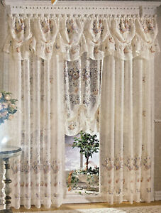 Sears Lace Window Curtains Drapes For Sale Ebay