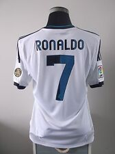Cristiano RONALDO #7 Real Madrid Home Football Shirt Jersey 2012/13 (L)