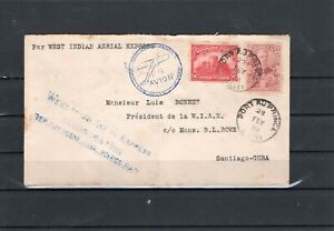 Haiti Flight cover -   WI-7 PaP to Santiago - 2/28/28