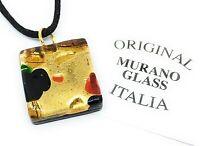 Murano Glass Pendant Murano Glass Jewellery Handmade Glass Pendant 2cm x 2cm