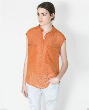 Zara Blouse Semi Fitted Singlepack Tops & Shirts for Women
