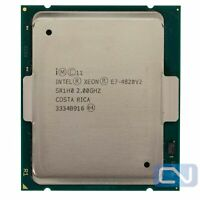 Intel Xeon E7-4820 v2 2GHz 16MB 7.2 GT/s 8 Core SR1H0 2011-1 Server CPU