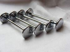 Stilvoll Design Silber Messerbank Besteck Ablage Accessoires Metall Messerbänke