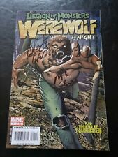 Legion Of Monsters: Werewolf By Night #1 - Signed By Land & Carey