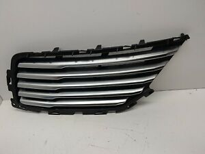 13-16 Lincoln MKZ OEM Driver sd Grill DP53-8151-ABW excellent condition