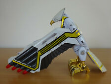 Vintage POWER RANGERS White Ranger Deluxe Falconzord Figure Bandai 1995 Zord