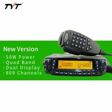 TYT TH9800 TH-9800 50W Dual Display Repeater Scrambler VHF UHF Transceiver Car