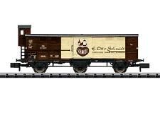 in OVP Minitrix 13286 - gedeckter Güterwagen braun der DB AG ? 010N